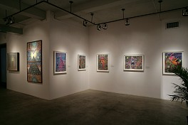 Past Exhibitions: Shamanic Illuminations: The Art of Pablo Amaringo, Alex Grey and Mieshiel Sep 15 - Oct 22, 2011