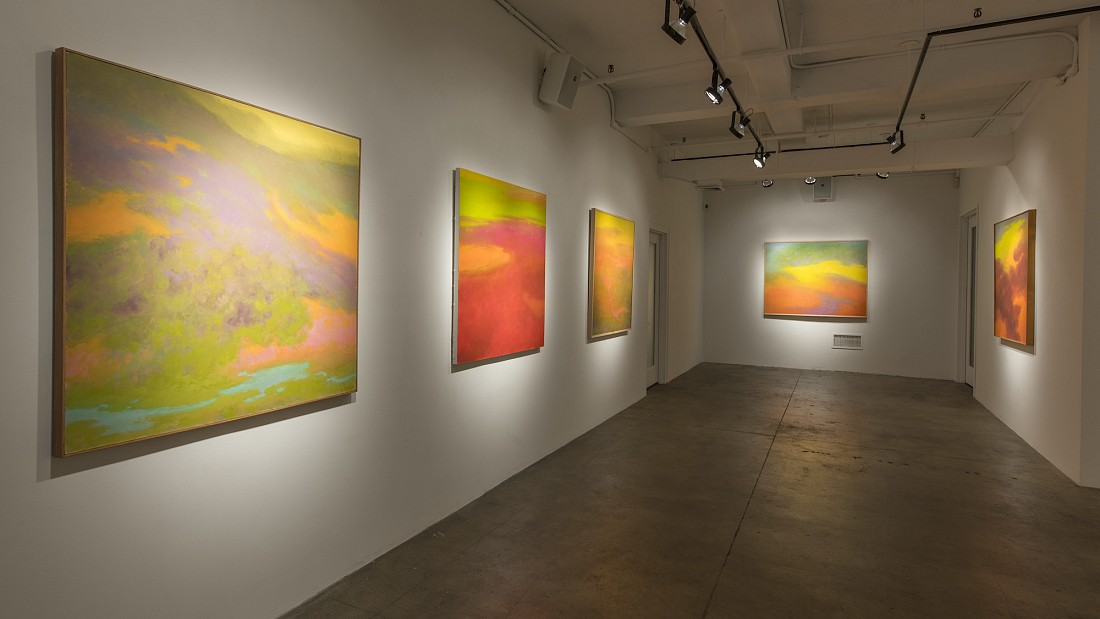 RICHARD MAYHEW: TRANSCENDENCE - Installation View