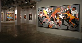 Past Exhibitions: Faith Ringgold's America: Red, White and Black Jan  1 - Apr 27, 2013